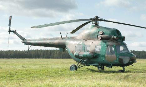 Mi-2 helicopter crashes during exercise in central Ukraine