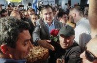Georgian ex-president returns to Ukraine
