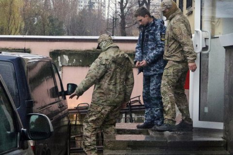 "Ukrainian sailors captured by FSB ""prisoners of war"" – prosecutor"