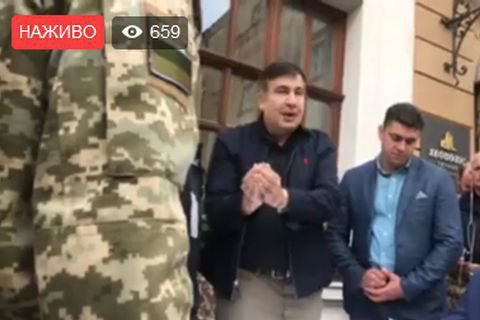 Saakashvili indicted for illegal border crossing