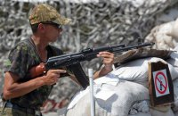 Number of enemy attacks in Donbas droped thrice last day