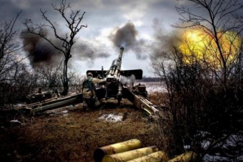 Five ATO troops wounded in Donbas