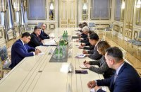 Reformers to keep posts, Ukrainian president tells G7