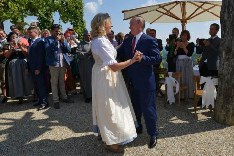 Ukraine, Austria had contacts after controversial wedding – envoy