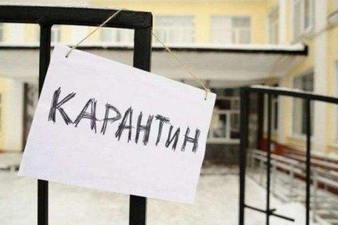 Zhytomyr closes schools for flu quarantine