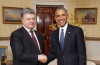 Ukrainian President meets Obama in Washington