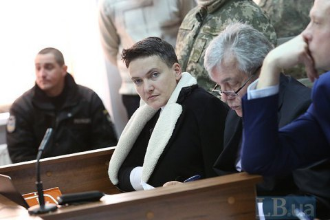 "MP Savchenko: separatist ""republics"" not terrorists"