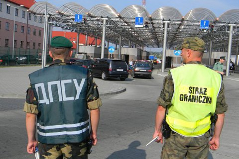 Ukrainians block several checkpoints on Polish-Ukrainian border