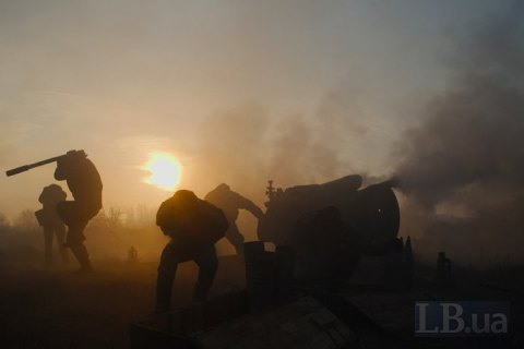 Two Ukrainian servicemen killed, four wounded in Donbas