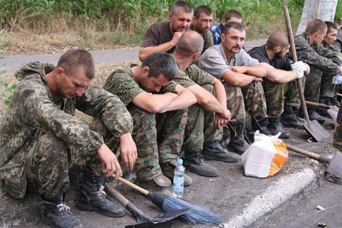 Verification of prisoners began in Donbas