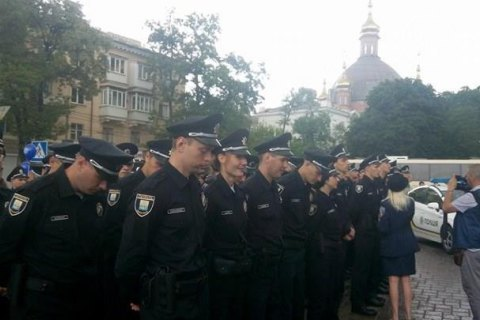 Ukraine completes launch of patrol police