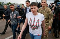 Nadiya Savchenko: ready to run for president if people want