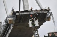 Two Ukrainians hurt in Genoa bridge collapse