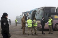 SBU says 184 people illegally held in occupied Donbas