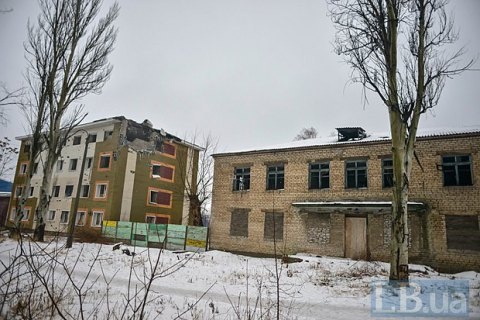 Power line to Avdiyivka damaged by shelling again