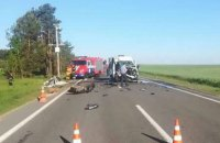 Teenage football team from Ukraine in deadly car crash in Belarus