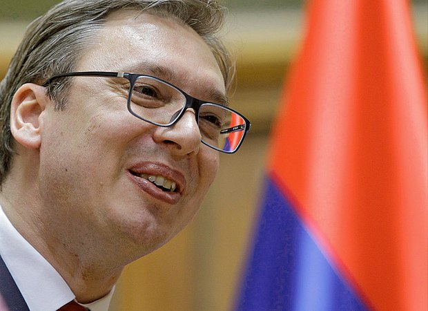 Serbian President Alexander Vucic