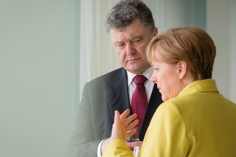 Poroshenko, Merkel discuss her meeting with Putin