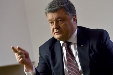 Poroshenko wary of Russian interference in Ukrainian election