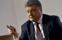 Poroshenko wary of Russian interference in Ukrainian election
