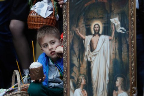Presidential office: only 3% of Ukrainians plan to attend Easter church service