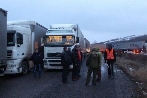 Cabinet orders measures re civil blockade of Russian lorries