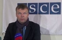 OSCE monitors came under fire in Donbas