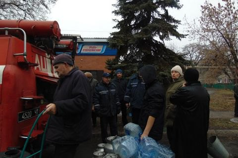 Toretsk has no water supply as militants block repairs