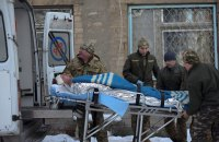 Two Ukrainian troops killed, six wounded in Donbas on 1 Feb