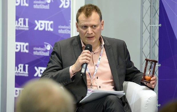 Moderator Dmytro Ostroushko