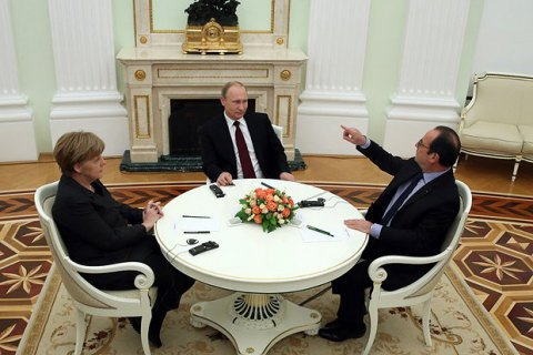 Putin's meeting, with Merkel, Hollande on Ukraine fails