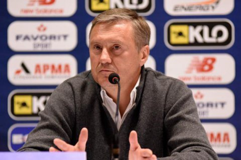 Dynamo Kyiv FC dismisses chief coach Khatskevych
