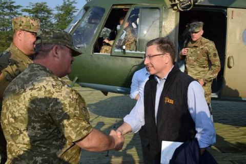 US envoy to visit Donbas next week