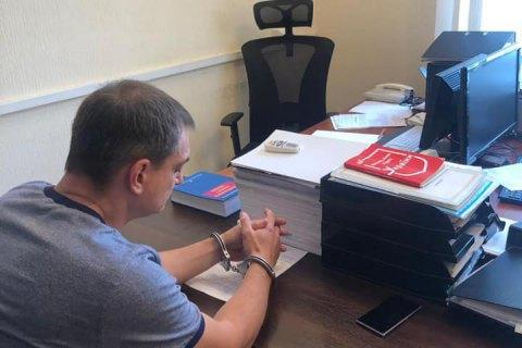 Senior Donetsk separatist figure detained
