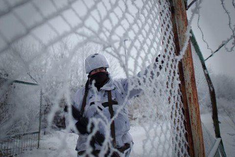One Ukrainian serviceman wounded in Donbas