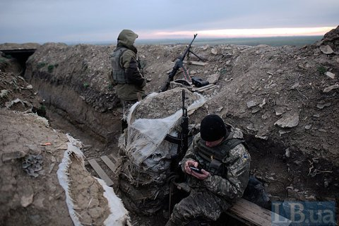 It was quiet in Donbas last day