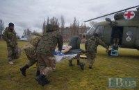 Two Ukrainian troops wounded in ATO zone last day
