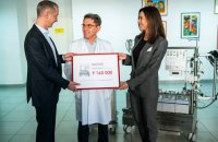 Boris Lozhkin Foundation donates UAH 9m in equipment to Pediatric Cardiology Center