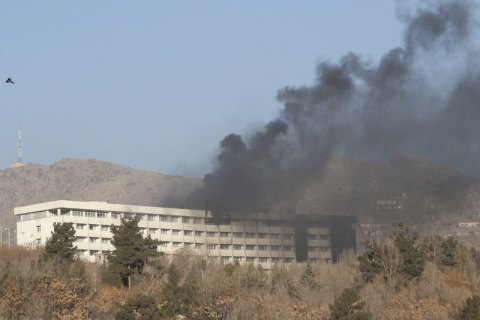 Ukrainian killed in attack on Kabul hotel