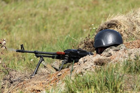 Border guard killed during drill in Lviv Region