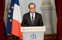 French president urges implementation of Minsk agreements