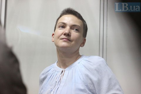 MP Savchenko asks Putin to pardon Ukrainian political prisoners