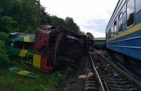Six hurt as trains collide in Khmelnytskyy Region