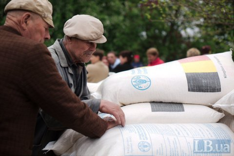 UN suspends aid to Donbas residents