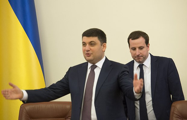 Hroysman introduces Sayenko