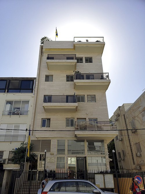 Ukraine's embassy in Tel Aviv