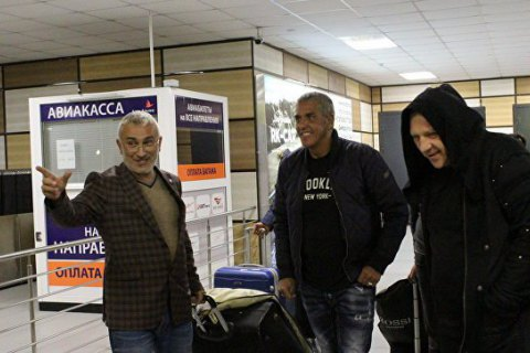 French actor Samy Naceri visits occupied Crimea