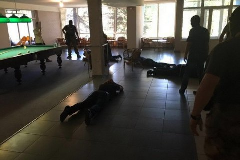 Ukrainian security service detains 106 crime bosses