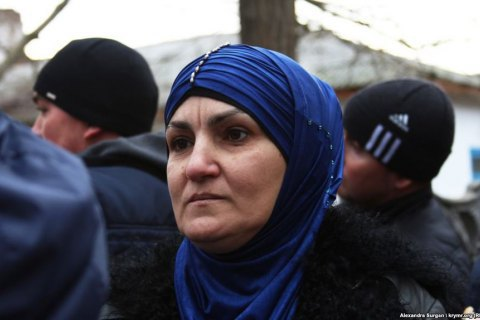 Arrestee's mother in Crimea fined, ordered community service