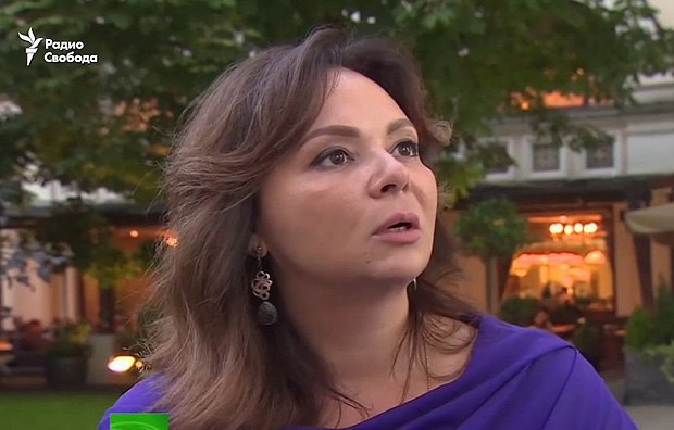 Lawyer Natalya Veselnitskaya who had a meeting with Donald Trump's son